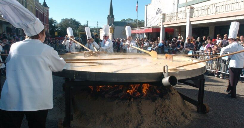 The Giant Omelette Celebration, Louisiana Bed and Breakfast Association